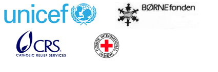 unicef, bornefonden, cathwell, catholic relief services, croix rouge internationale, fondation dreyer, materiel pédagogique, justine dubos, association jeu m'éveille
