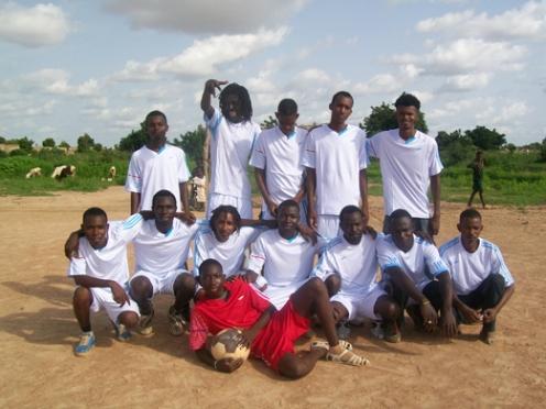 L'équipe de foot