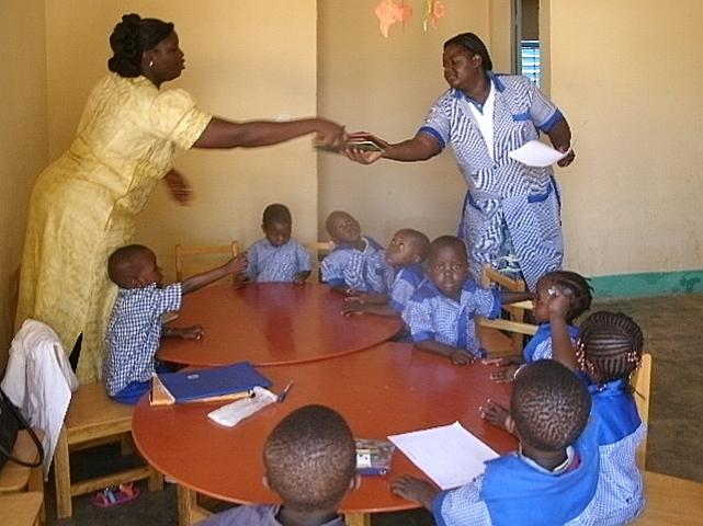"""L'école maternelle """"Les enfants chéris"""""""